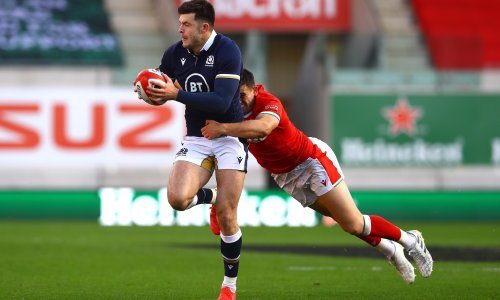 Blair Kinghorn may take time to settle as Scotland's No 10, says Townsend