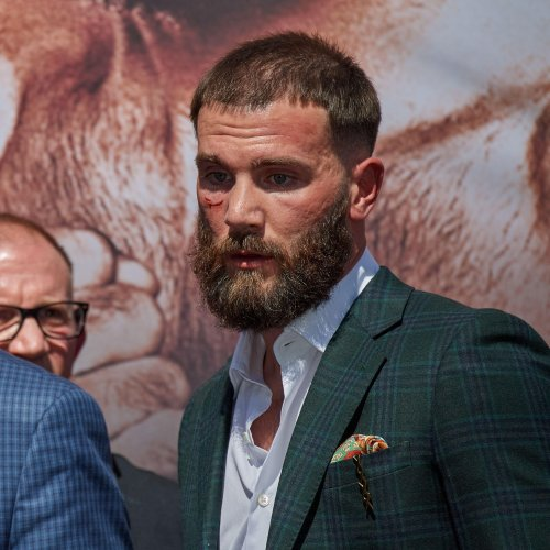 'Don't talk about my mom': Canelo and Plant trade blows before bout