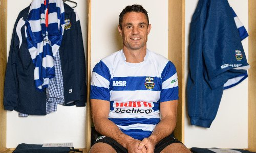 Dan Carter: 'Rugby needs fun, it needs characters, or it gets stale'