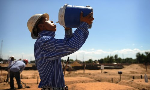 Too hot to work: the dire impact of extreme heat on outdoor US jobs