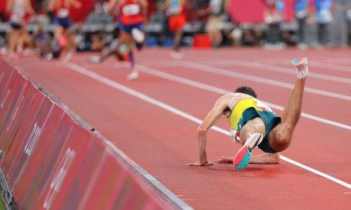 'I'm no hero': Australian distance runner Patrick Tiernan drags himself across line
