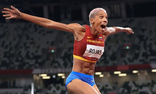 Yulimar Rojas thanks Facebook algorithm after making history for Venezuela in triple jump