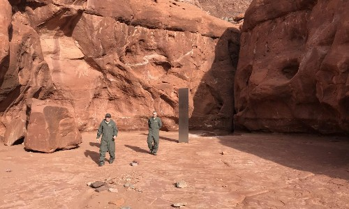 Mystery metal monolith vanishes from Utah desert