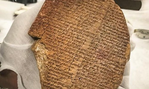 Gilgamesh Dream Tablet to be formally handed back to Iraq