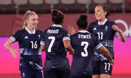 Caroline Weir's late effort earns Team GB quarter-final against Australia
