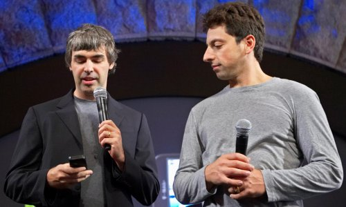 Google founders Larry Page and Sergey Brin join $100bn club