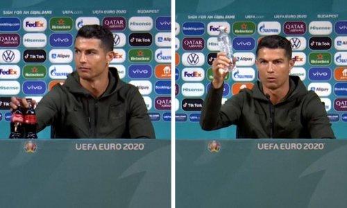 Cristiano Ronaldo snub wipes billions off Coca-Cola's market value