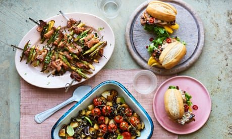 Pork skewers and Vietnamese chicken: Genevieve Taylor's barbecue recipes
