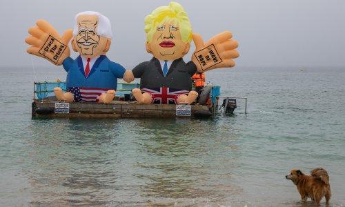 G7 summit kicks off as British PM says transatlantic relationship 'indestructible'