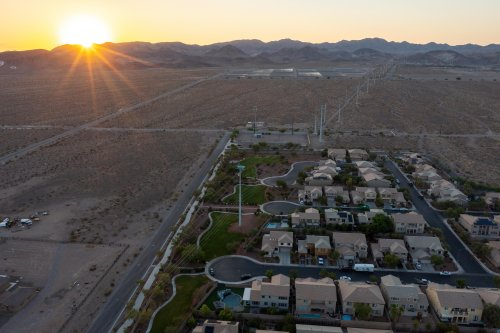 'We live in a desert. We have to act like it': Las Vegas faces reality of drought
