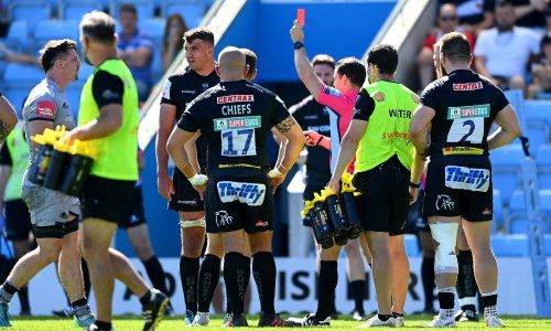 Exeter's Rob Baxter 'very disappointed' over bans for Skinner and Ewers