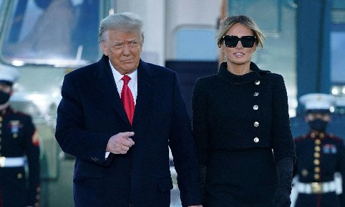 Donald and Melania Trump quietly got Covid vaccines last month, reports say