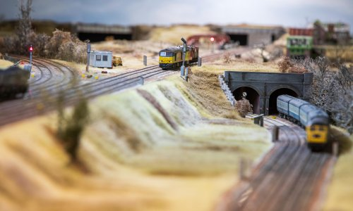 The train will shortly be arriving in 1983: a boyhood rebuilt in Britain's biggest model railway