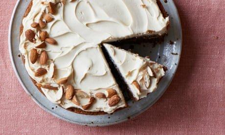Ravneet Gill's recipe for coffee, cardamom, almond and mascarpone cake
