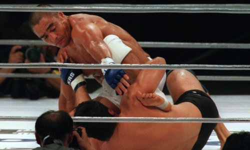 Rickson Gracie: 'MMA is different in the US, where the crowd just gets drunk and yells'