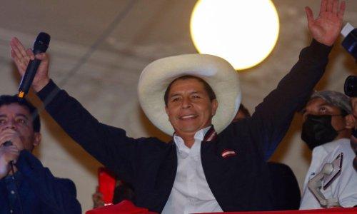 Pedro Castillo makes unity plea after finally being named Peru's next president