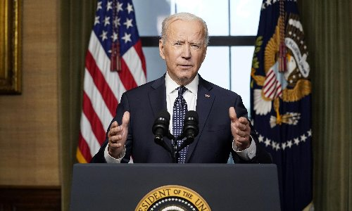 Biden announces all US and Nato troops to leave Afghanistan by September 11
