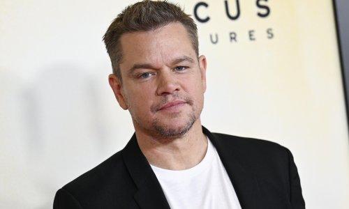 Matt Damon denies using homophobic slur 'in personal life'