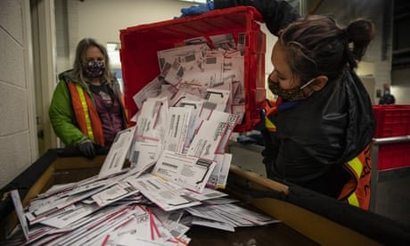 Mail-in voting did not swell turnout or boost Democrats, study finds