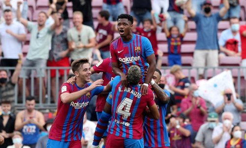 Barcelona rediscover Ansu Fati – and hope – when they most need to