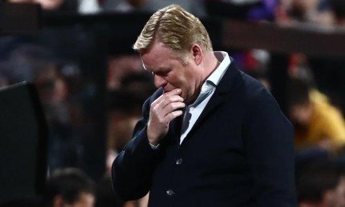 Ronald Koeman sacked by Barcelona after defeat at Rayo Vallecano