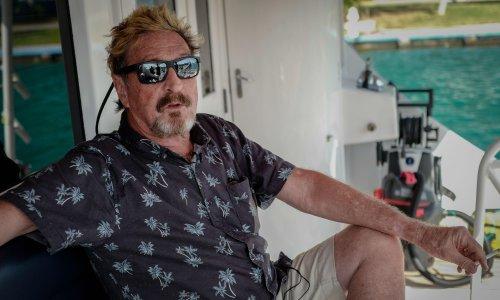 John McAfee: antivirus entrepreneur found dead in Spanish prison