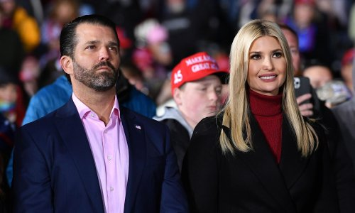 Is trouble brewing for Ivanka Trump and Don Jr? They're certainly acting like it