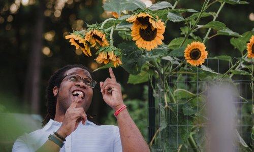 'We deserve this peace and joy': black gardeners bloom on TikTok and Instagram