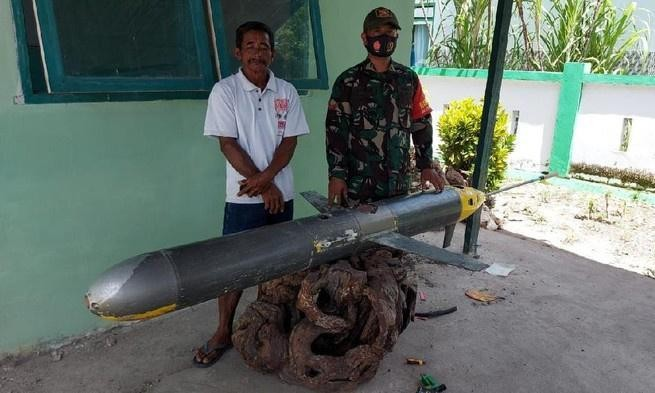 Indonesian fisher finds drone submarine on possible covert mission