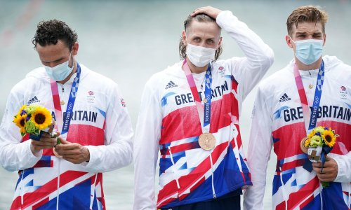 Team GB win bronze in men's eight as inquest starts into poor Olympic regatta