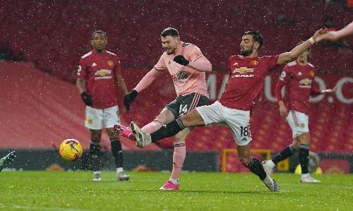 Oliver Burke shocks Manchester United with Sheffield United winner