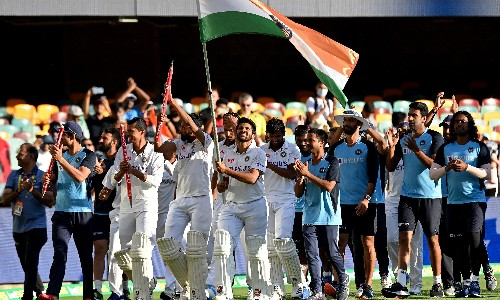 'Plunder down under': India revels in cricket team's shock victory at Gabba