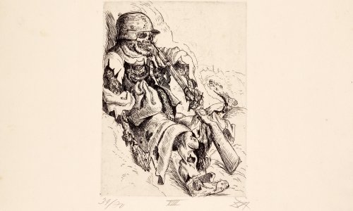 Otto Dix's 'apocalyptic' depictions of life on western front up for auction
