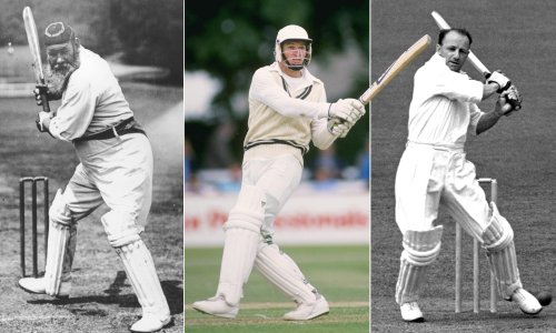 WG Grace, Don Bradman and the race to 1,000 runs before the end of May