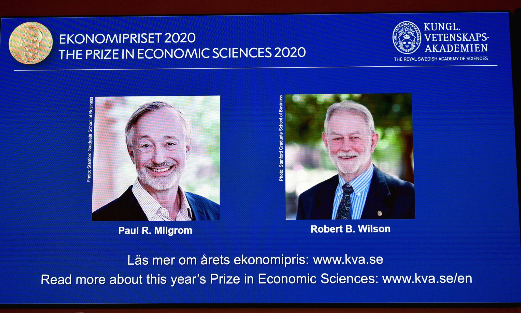 US game theory specialists win Nobel prize in economics
