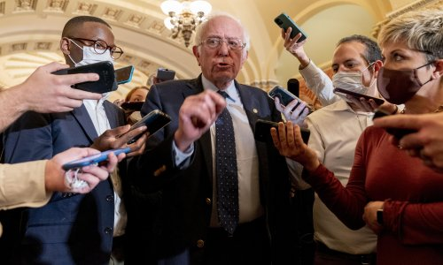 'Finally doing right': Democrats' big bill offers Sanders chance to deliver