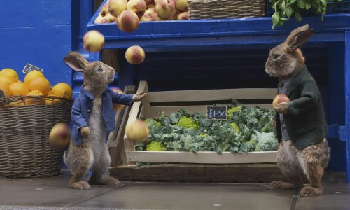 Peter Rabbit 2 review – James Corden's unfunny bunny scampers back
