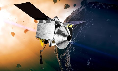 Nasa spacecraft leaves asteroid Bennu with a belly full of space rock samples
