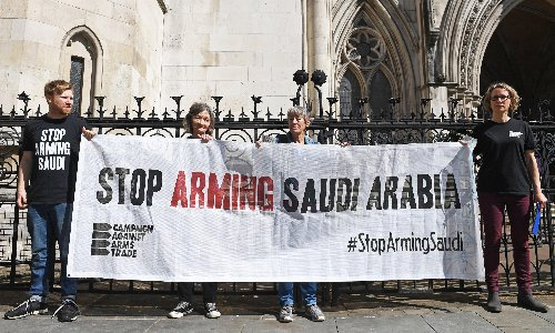 High court to hear legal battle over UK arms sales to Saudi Arabia