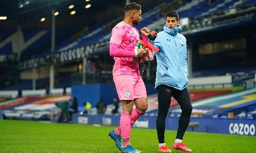 Pep Guardiola sticks with Steffen for Manchester City's FA Cup semi-final