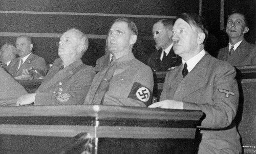 Hitler's deputy Rudolf Hess parachutes into Scotland – archive, 13 May 1941