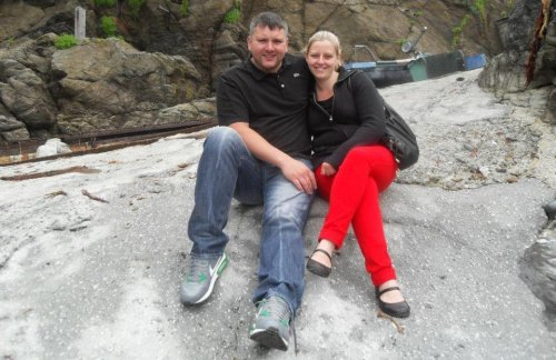 How we met: 'He used to annoy me. I was really small and he was always picking me up'