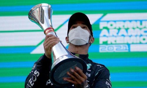 Lewis Hamilton rallies to edge out Max Verstappen to win Spanish Grand Prix