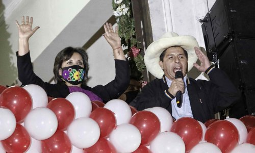 Peru's new president to take charge of divided country ravaged by Covid
