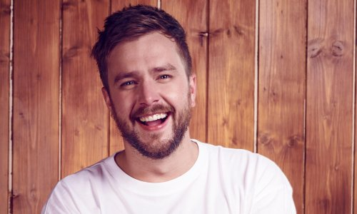 Comedian Iain Stirling on Love Island, working with a puppet dog and his new sitcom