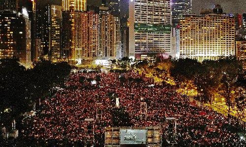 Hong Kong tycoon Jimmy Lai jailed again as Tiananmen vigil banned