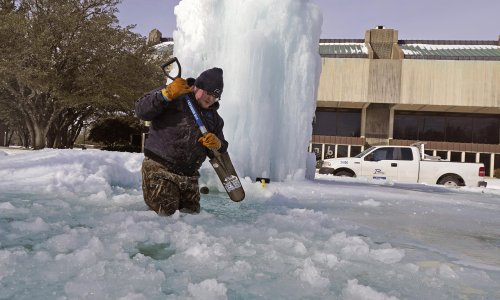 Heating Arctic may be to blame for snowstorms in Texas, scientists argue