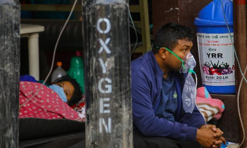 'Urgent. Oxygen needed': Nepalis mobilise to take charge in Covid crisis
