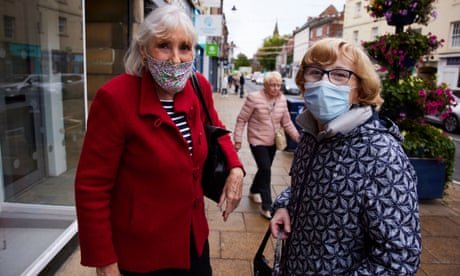 'We're very sensible': Morpeth leads way on Covid jabs in England