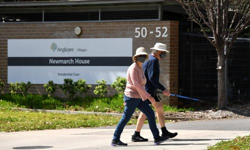 NSW and Victoria criticised for 'glaring omission' of aged care freedoms in reopening plans